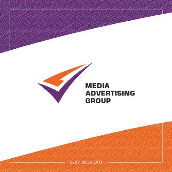 Логотип и фирменный стиль <br> рекламного агентства «Media advertising group»